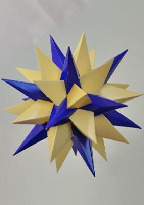 "Model ""Thirteenth stellation of icosidodecahedron"""