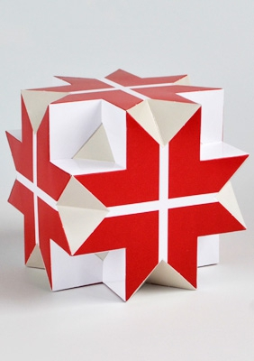 "Model ""Great cubicuboctahedron"""
