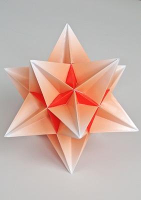Model Great icosahedron