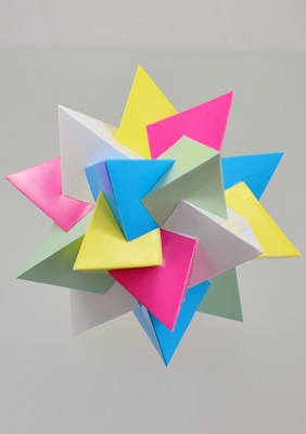 Model Compound of five tetrahedra