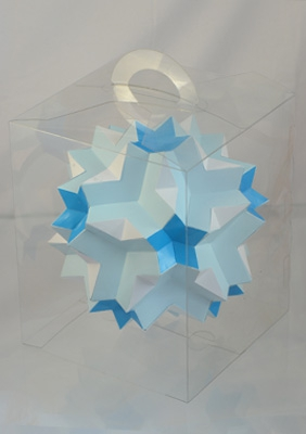 """Model """"Great dodecoicosidodecahedron"""""""