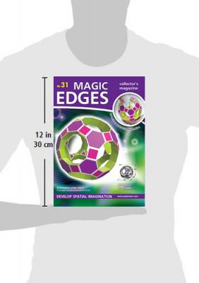 Magic Edges Archimedean solids