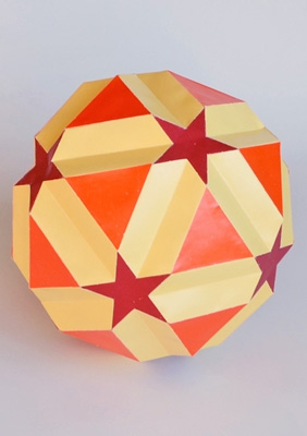 "Model ""Small icosicosidodecahedron"""
