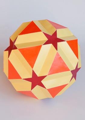Model Small icosicosidodecahedron