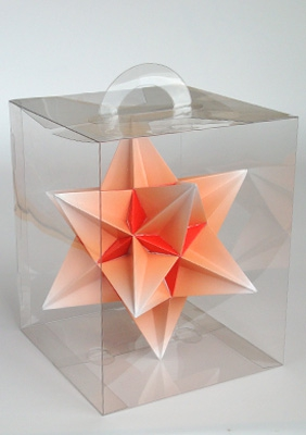 "Model ""Great icosahedron"""