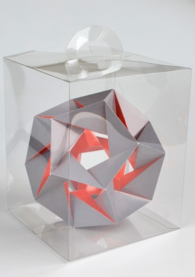 "Model ""Fourteenth stellation of icosahedron"""