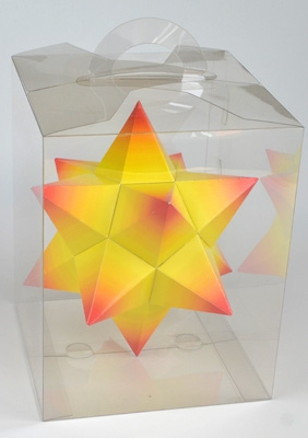 "Model ""Small stellated dodecahedron"""