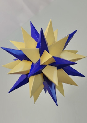 "Model ""Thirteenth stellation of icosidodecahedron"""