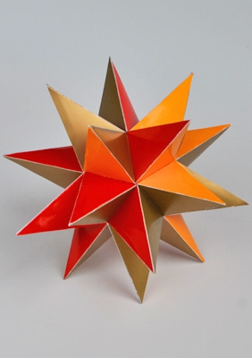 "Model ""Great stellated dodecahedron"""