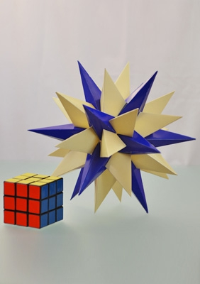 Model Thirteenth stellation of icosidodecahedron