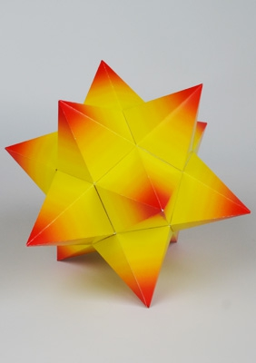 """Model """"Small stellated dodecahedron"""""""