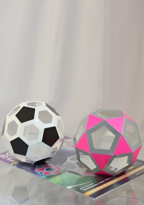 The models of Archimedean solids
