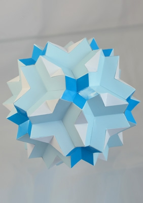 "Model ""Great dodecoicosidodecahedron"""