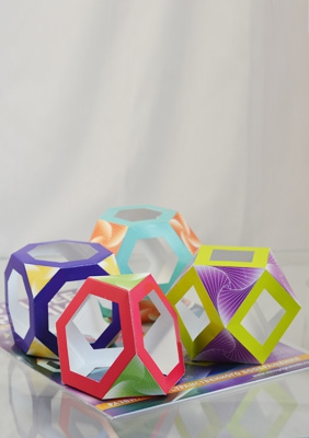 The models of semiregular polyhedra