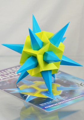 "Model ""Sixth stellation of icosahedron"""