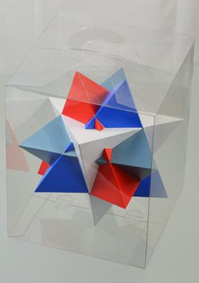 Compound of Four tetrahedra