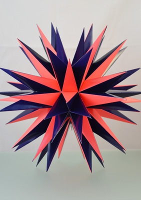 "Model ""The final stellation of the icosahedron"""
