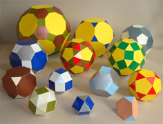 all archimedean solids
