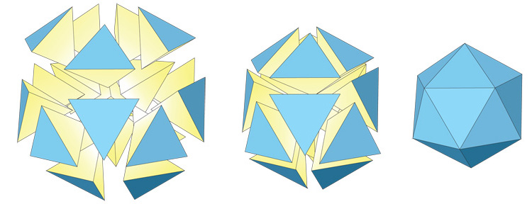 3 Divide the icosahedron