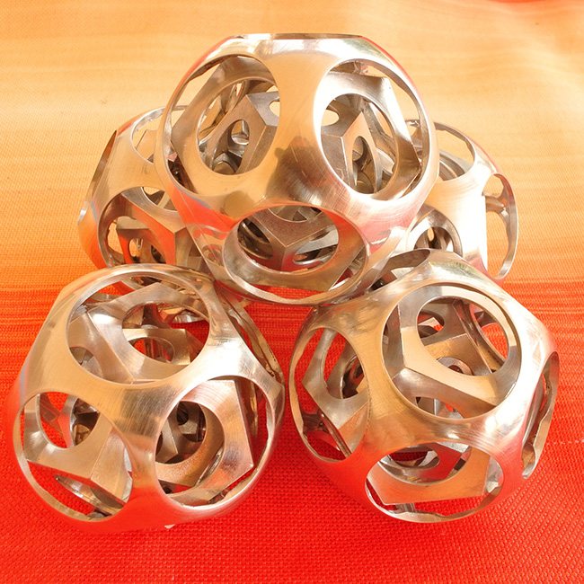 dodecahedrons inside the ball