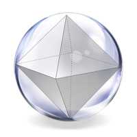 radius of a circumscribed sphere of an octahedron