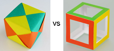 Origami vs Magic Edges sets