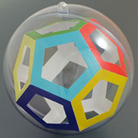 dodecahedron inside the sphere