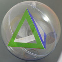 tetrahedron inside the sphere