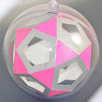 icosidodecahedron inside the sphere
