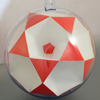 Small icosihemidodecahedron inside the sphere