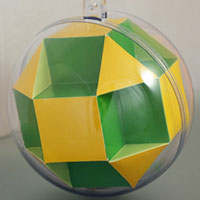 small octahedron inside the sphere