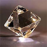 treated diamond octahedron