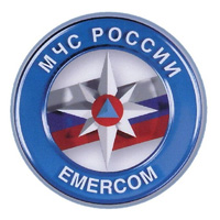 eight pointed star EMERCOM of Russia 2