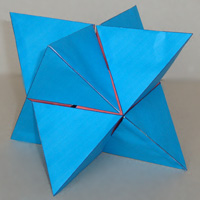Stellated octahedron challenging task