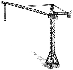 triangle tower crane