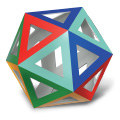 Magic Edges #12 icosahedron