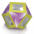 Magic Edges #18 cuboctahedron