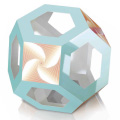 Magic Edges #18 truncated octahedron