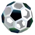 Magic Edges #18 truncated icosahedron