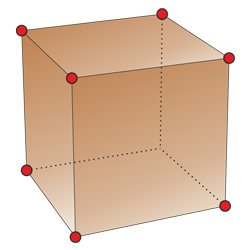 polyhedrons vertices