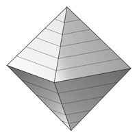 The volume of the octahedron