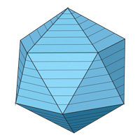 The volume of the icosahedron