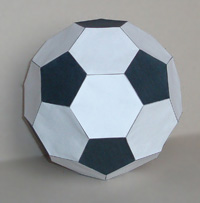 polyhedron soccer ball