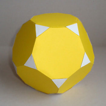 Truncated dodecahedron