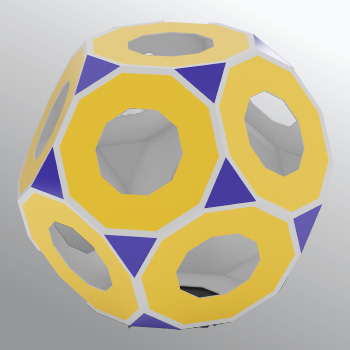 Truncated dodecahedron 350