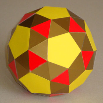Snub dodecahedron 350
