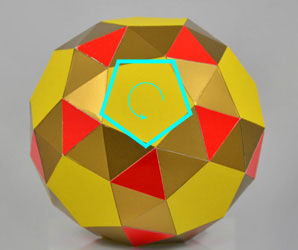 snub dodecahedron twisted to the left