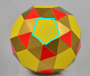 snub dodecahedron twisted to the right
