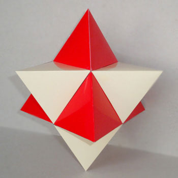 Stellated octahedron 350x350