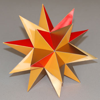Modular Origami: How to Make a Truncated Icosahedron, Pentakis ... | 350x350